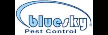 Blue Sky Pest Control Logo